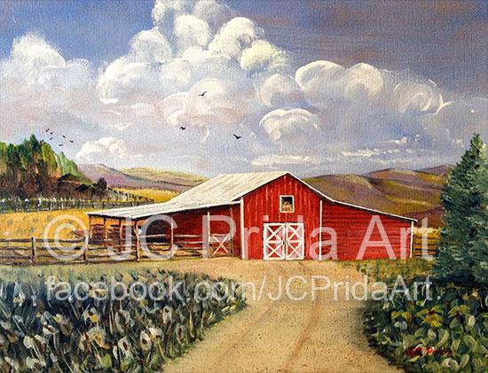West Virginia Red Barn