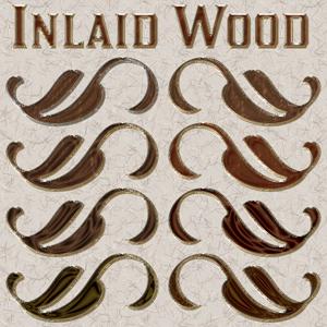 Inlaid Wood Layer Styles Thumbnail