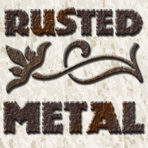 Rusted Metal Layer Styles Thumbnail