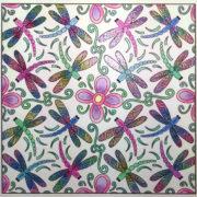 """""""Dragonflies Dance"""" colored by Jennifer Beaulieu"""