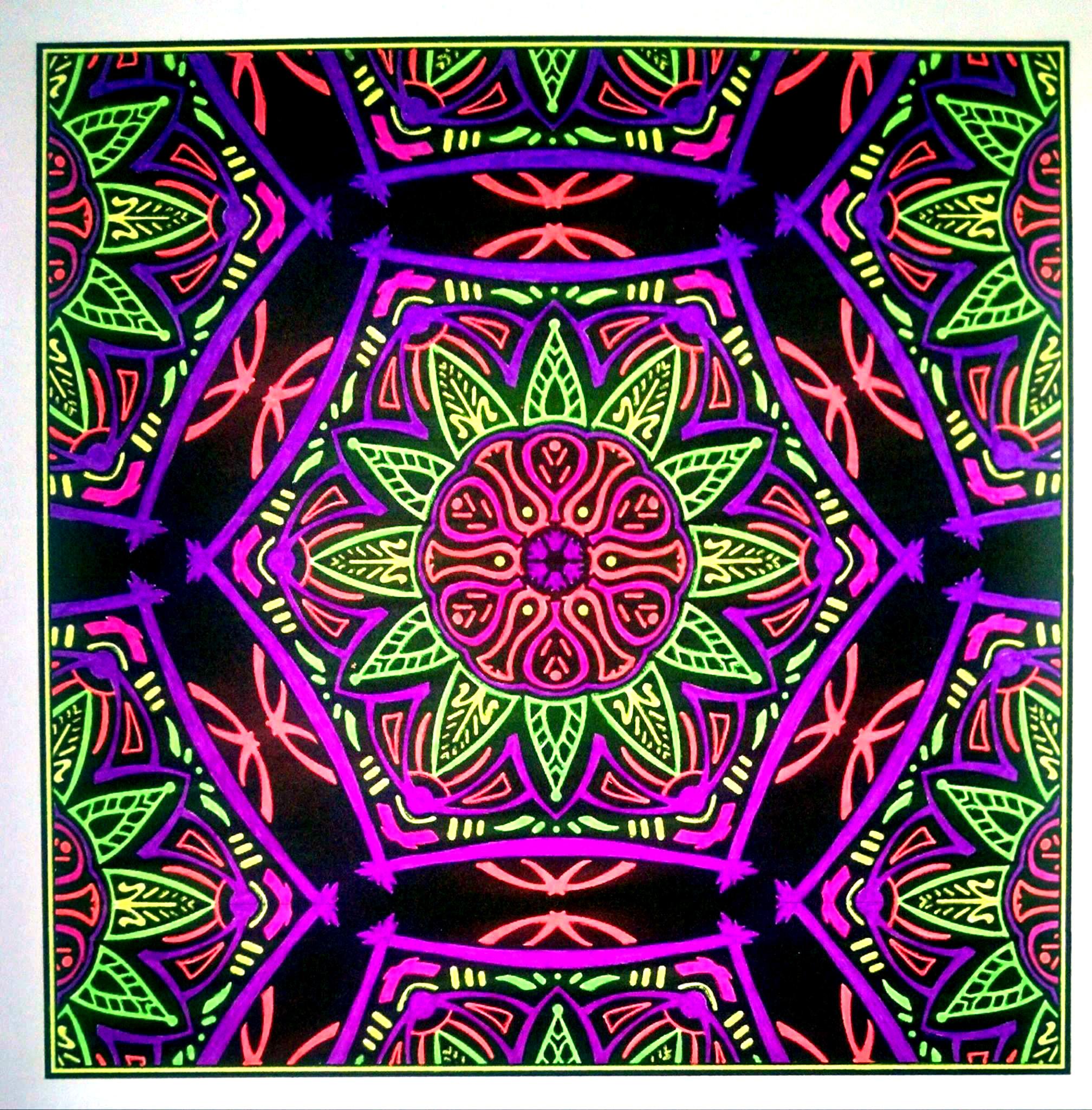 """Rotunda"" OrnaMENTALs Design #0052, colored by Jennifer Beaulieu"