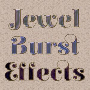 Jewel Burst Layer Styles