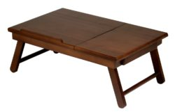 Winsome Lap Desk with Drawer and Foldable Legs