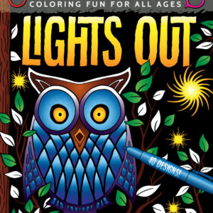 OrnaMENTALs Lights Out Coloring Book Cover