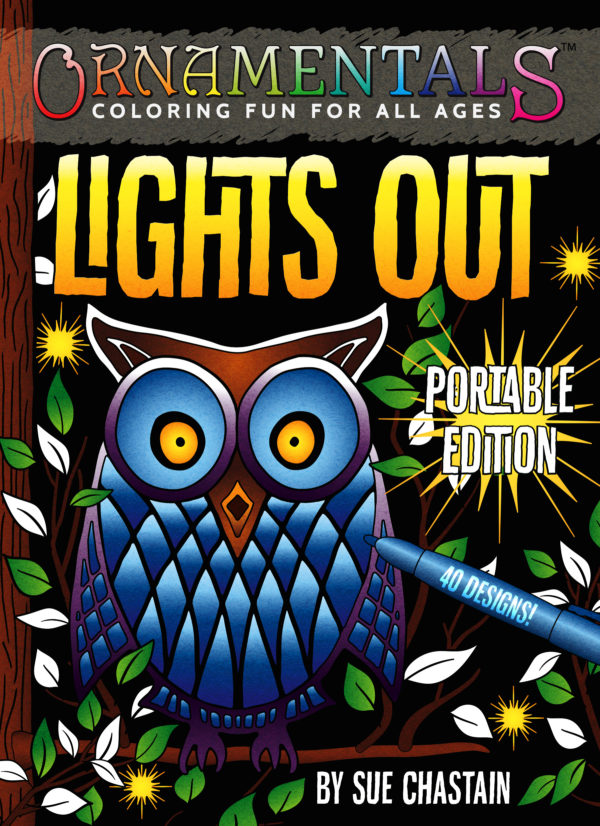 OrnaMENTALs Lights Out Portable Book