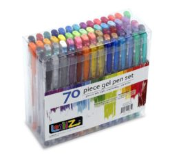 Lolliz brand gel pens 70-count