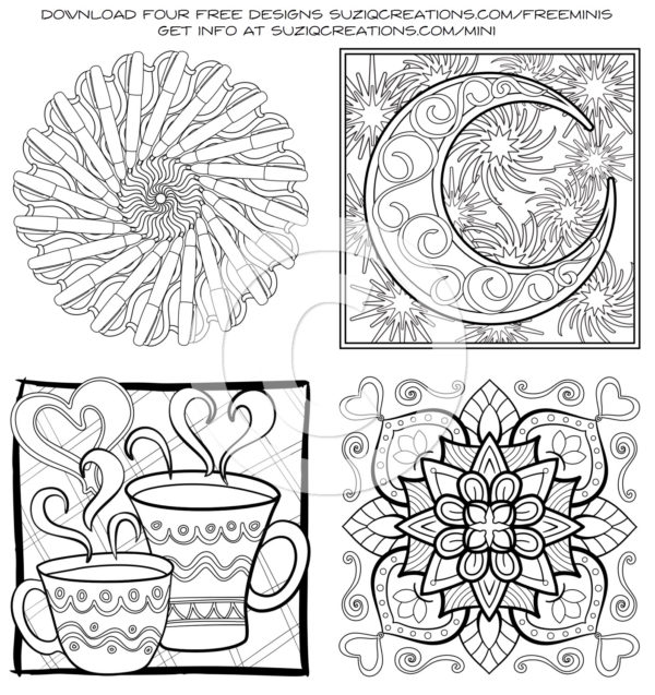 MiniMENTALs On-the-Go Coloring Book Free Samples