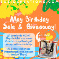 May Celebration: Freebie, Sale & Giveaway