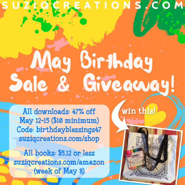 May Birthday Sale and Giveaway