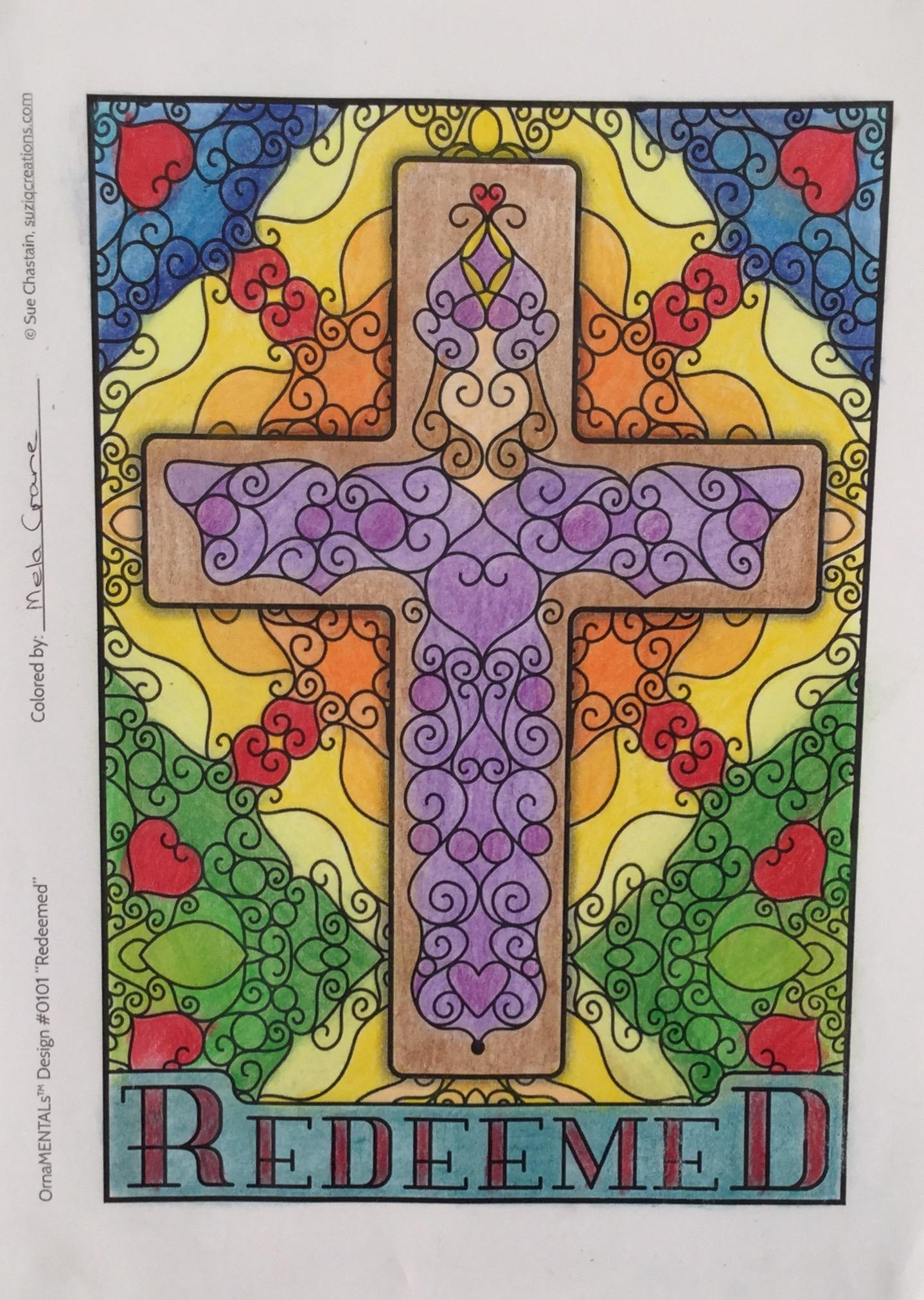 Redeemed Colored by Mela Crane