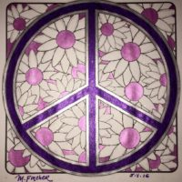 Colored by Myranda Fincher from MiniMENTALs On the Go Coloring Book