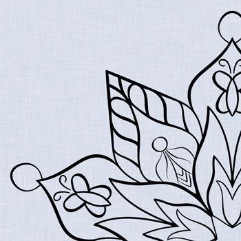 OrnaMENTALs™ Coloring Page Design 0069 Spring Renewal Thumbnail