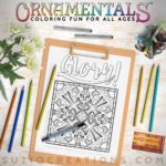 OrnaMENTALs Glory in the Morning Coloring Page #0153