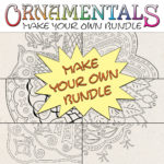 Make Your Own Bundle of OrnaMENTALs Coloring Pages