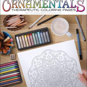 Stars and Stripes Coloring Page Scene OrnaMENTALs-0015