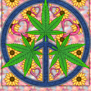 """Peace, Toke, and Love,"" OrnaMENTALs™ #0024"