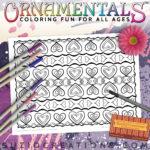 OrnaMENTALs Coloring Page #0099 Love Chain