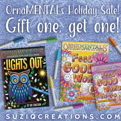 OrnaMENTALs Sale, Gift one and get one.