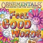 OrnaMENTALs Feel Good Words 3D Coloring Book Cover