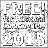 OrnaMENTALs Triple Treat Free Coloring Page