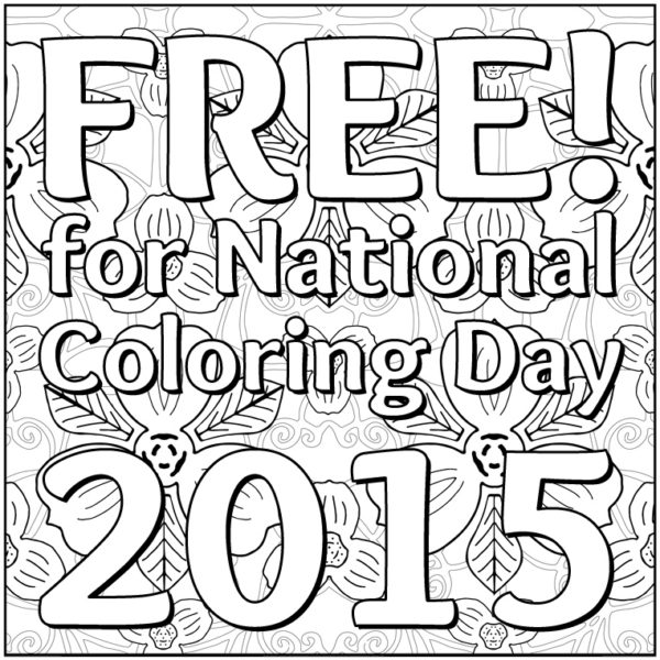 OrnaMENTALs National Coloring Day Free Page Thumbnail