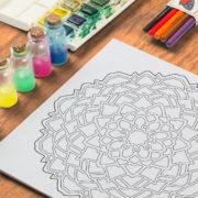 Blossom Free Coloring Page Ornamentals #0002