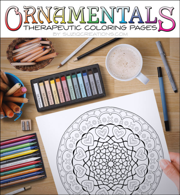 So Much Love Coloring Page Ornamentals-0008