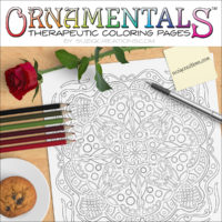 Enchantment OrnaMENTALS #0031 Coloring Scene
