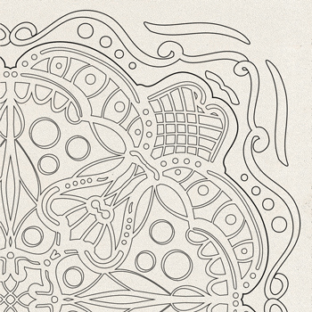 OrnaMENTALS #0031 Enchantment Coloring Page Thumbnail