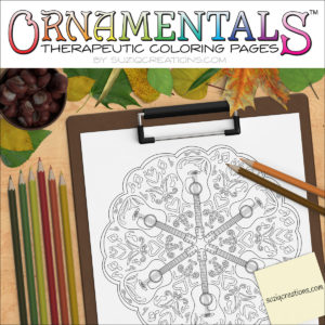 Just Strumming Along OrnaMENTALs #0032 Coloring Page