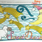 """""""Sweet Dreams"""" from Feel Good Words, colored by Mara."""