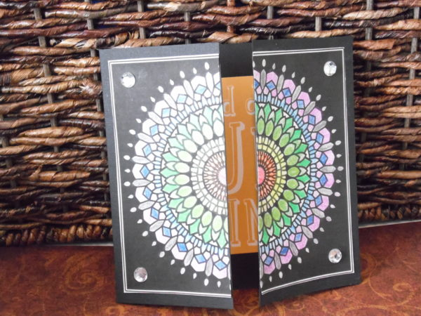 "Gatefold Card from MiniMENTALs Design ""Twenty-Five Revolutions"""