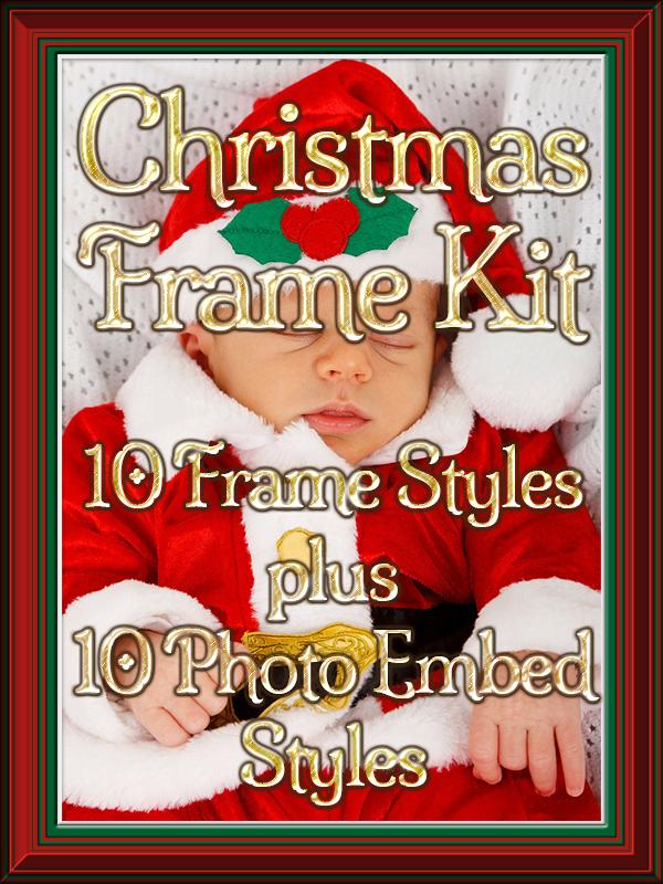SKS Christmas Frame Kit Title