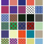 30 Circle Design Pattern Seamless Tiles