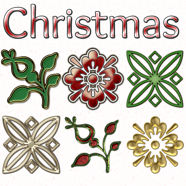 60 Free Christmas Layer Styles Thumbnail