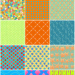 Preview of Summer Splash Seamless Patterns