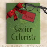 Adult Coloring Gift Guide - Gifts for Seniors