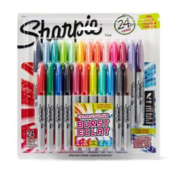 Sharpie brand permanent markers 24-count