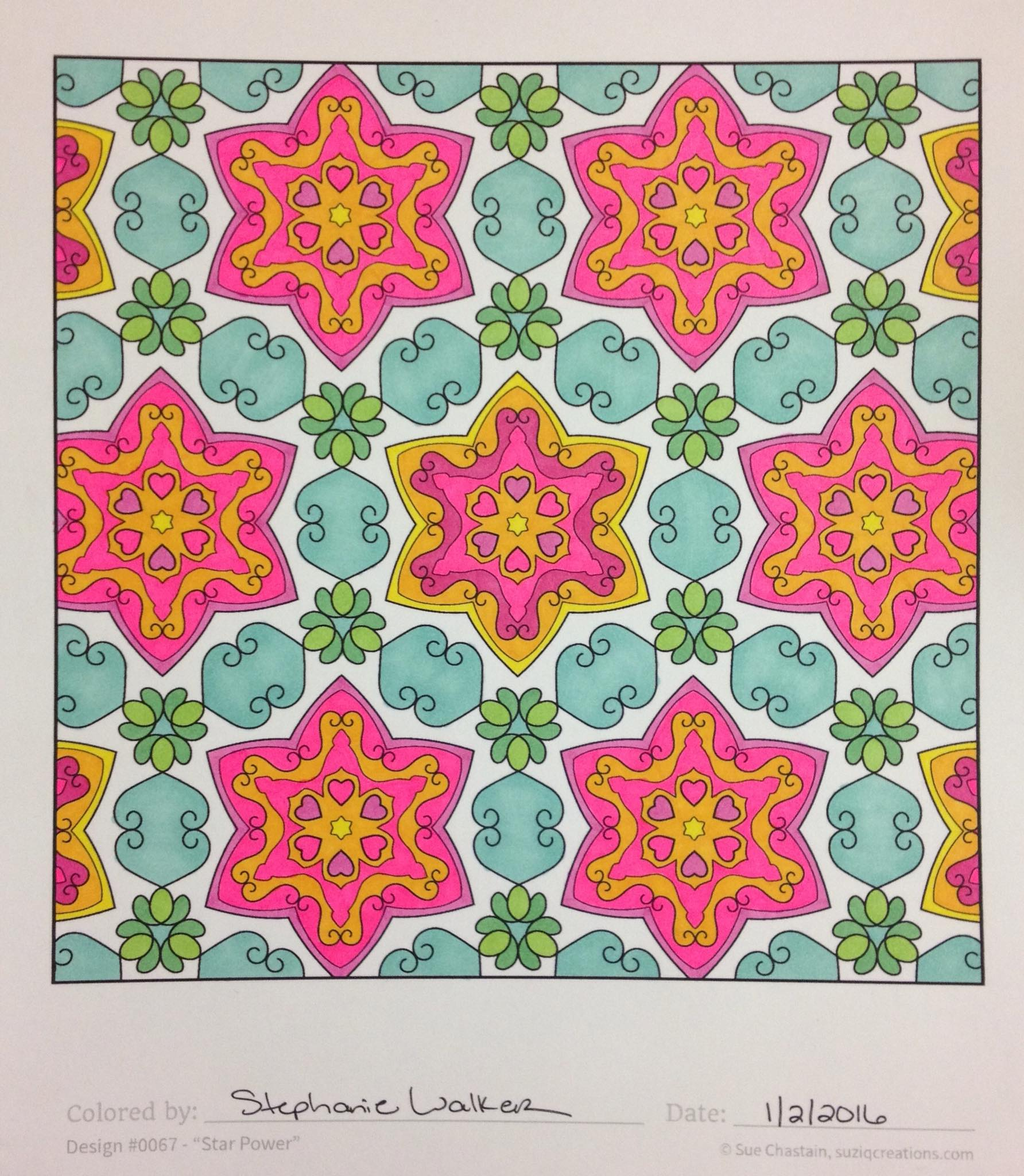 Book color scheme - From The Book Ornamentals Splendid Symmetry