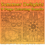 Summer Delights OrnaMENTALs Coloring Bundle
