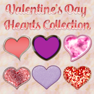Valentine Hearts Collection Preview Sample