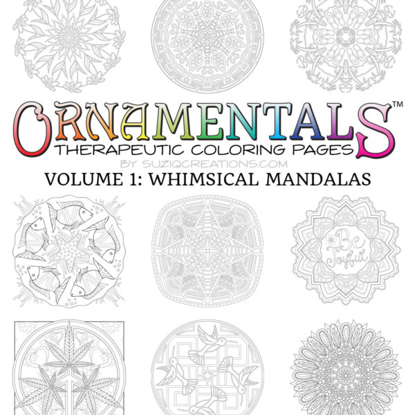 Designs from OrnaMENTALs™ Volume 1: Whimsical Mandalas (2 of 2)