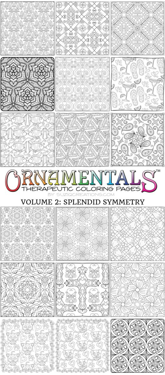 Designs from OrnaMENTALs™ Volume 2: Splendid Symmetry (2 of 2)
