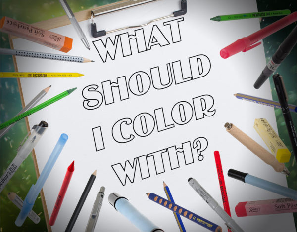 Best Coloring Tools for Getting Started with Adult Coloring Books ...