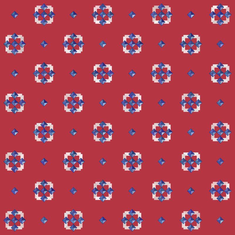 Americana Seamless Pattern 101