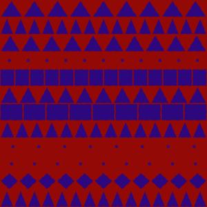 Americana Seamless Pattern 102