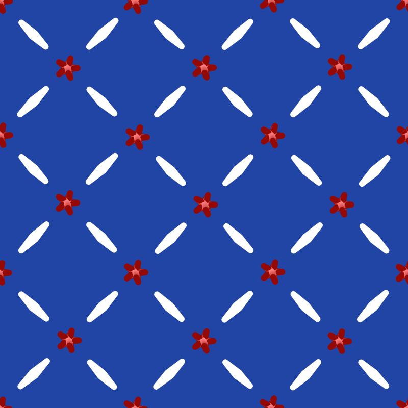 Americana Seamless Pattern 104