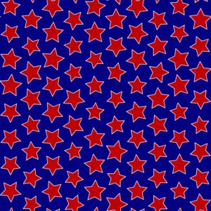 Americana Seamless Pattern 109