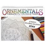 Coloring Calendar featuring OrnaMENTALs™ Mandalas
