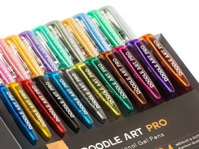 Doodle Art Pro Gel Pen Packaging